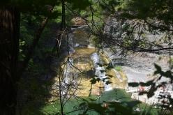 Lower Falls. Ithaca, NY.